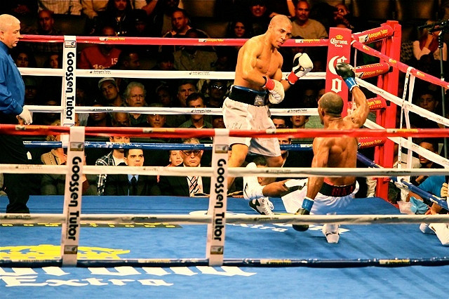 Andre Ward in action