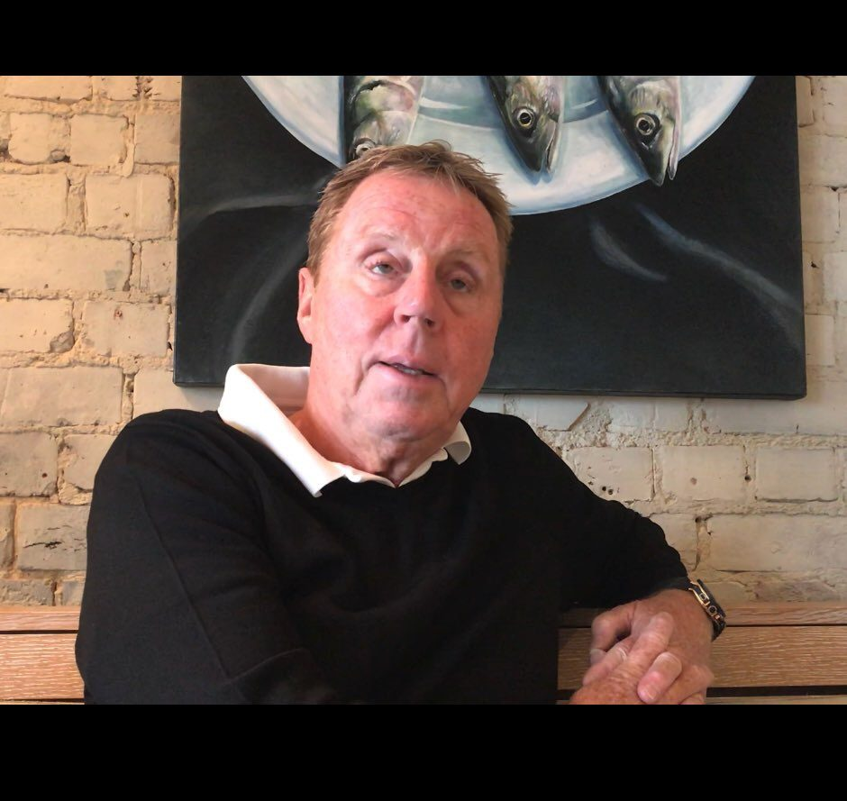 Harry Redknapp speaking exclusively to Emily Victoria in his local restaurant in Sandbanks