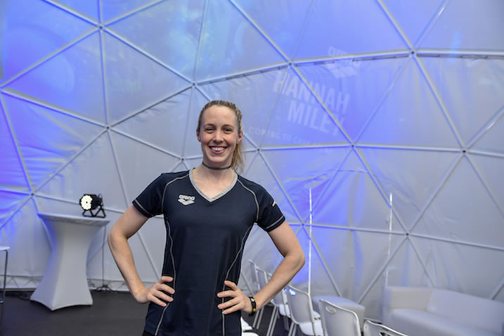 The Thing That Kept Me Moving Forward Was Getting Back In The Water Hannah Miley On Olympic