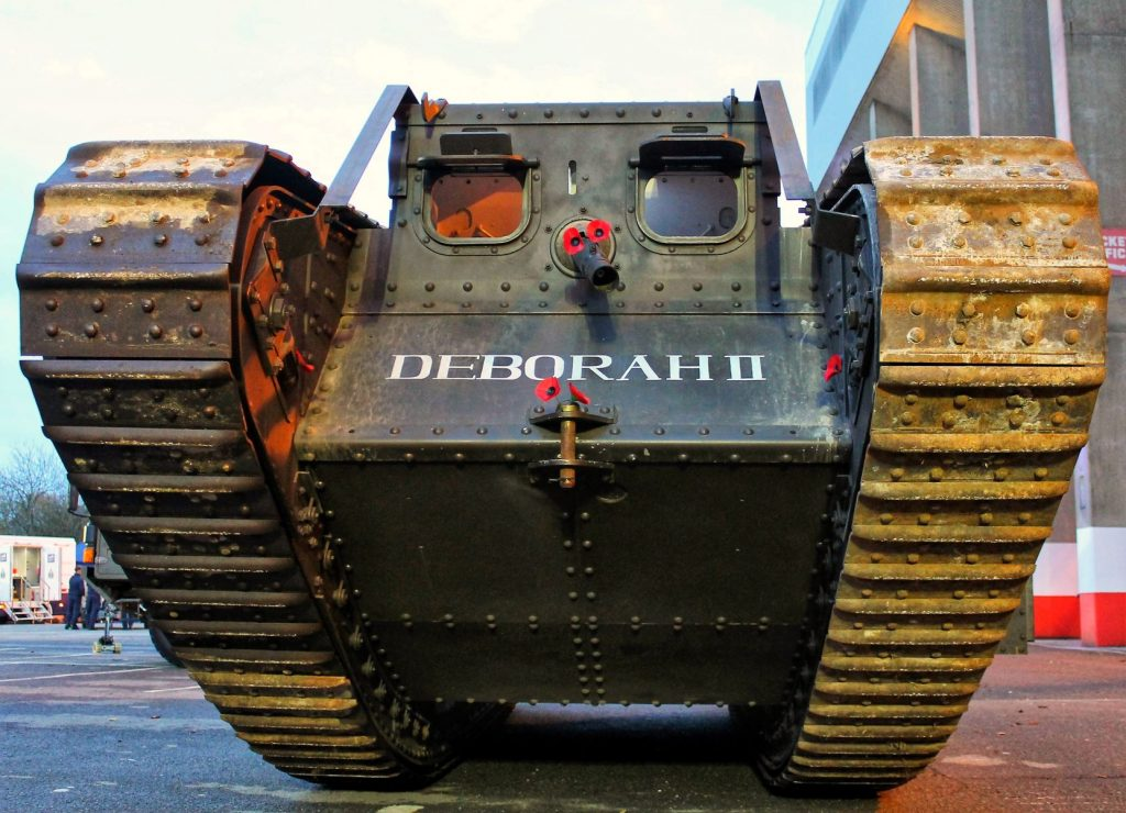 Deborah II replica WW1 Tank