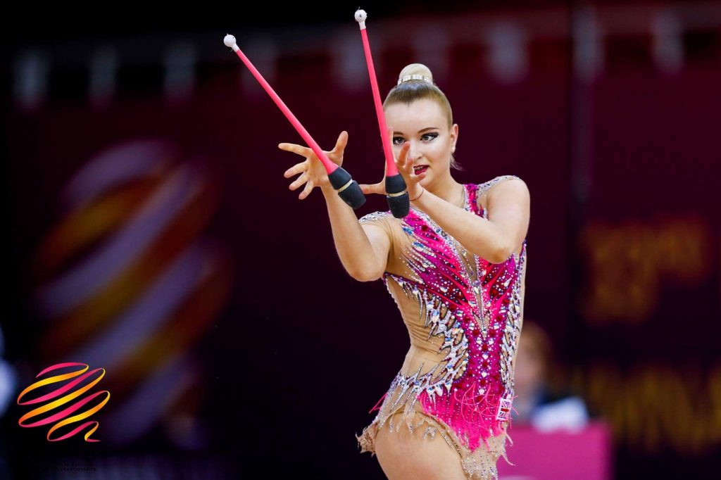 My goal was to improve rhythmic gymnastics in the country
