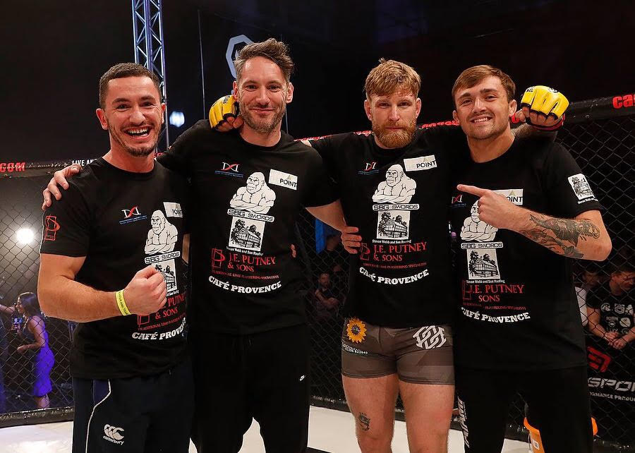 huge sale the best attitude buy sale My first MMA fight was five years ago, how mad is that ...