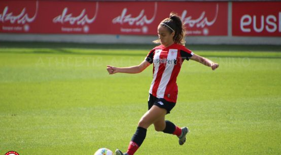 Maite Oroz ready to kick