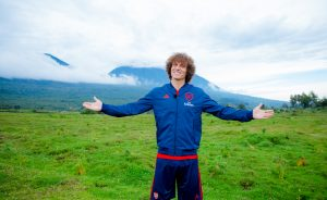 David Luiz at Singita, Volcanoes National Park