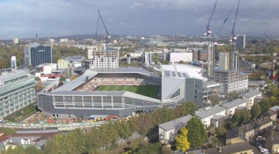 Brentford manager Thomas Frank looks to kick on ahead of next season's new stadium move (Brentford FC)