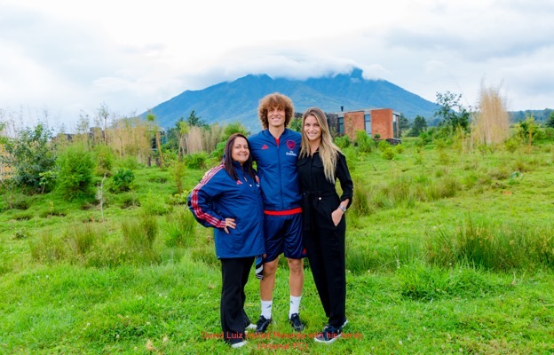 David Luiz and family visited Rwanda (ArsenalFC