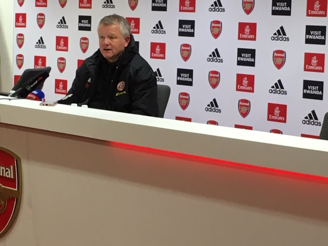 Chris Wilder guided Sheffield United to a 1-1 draw at Arsenal (Tusdiq Din)