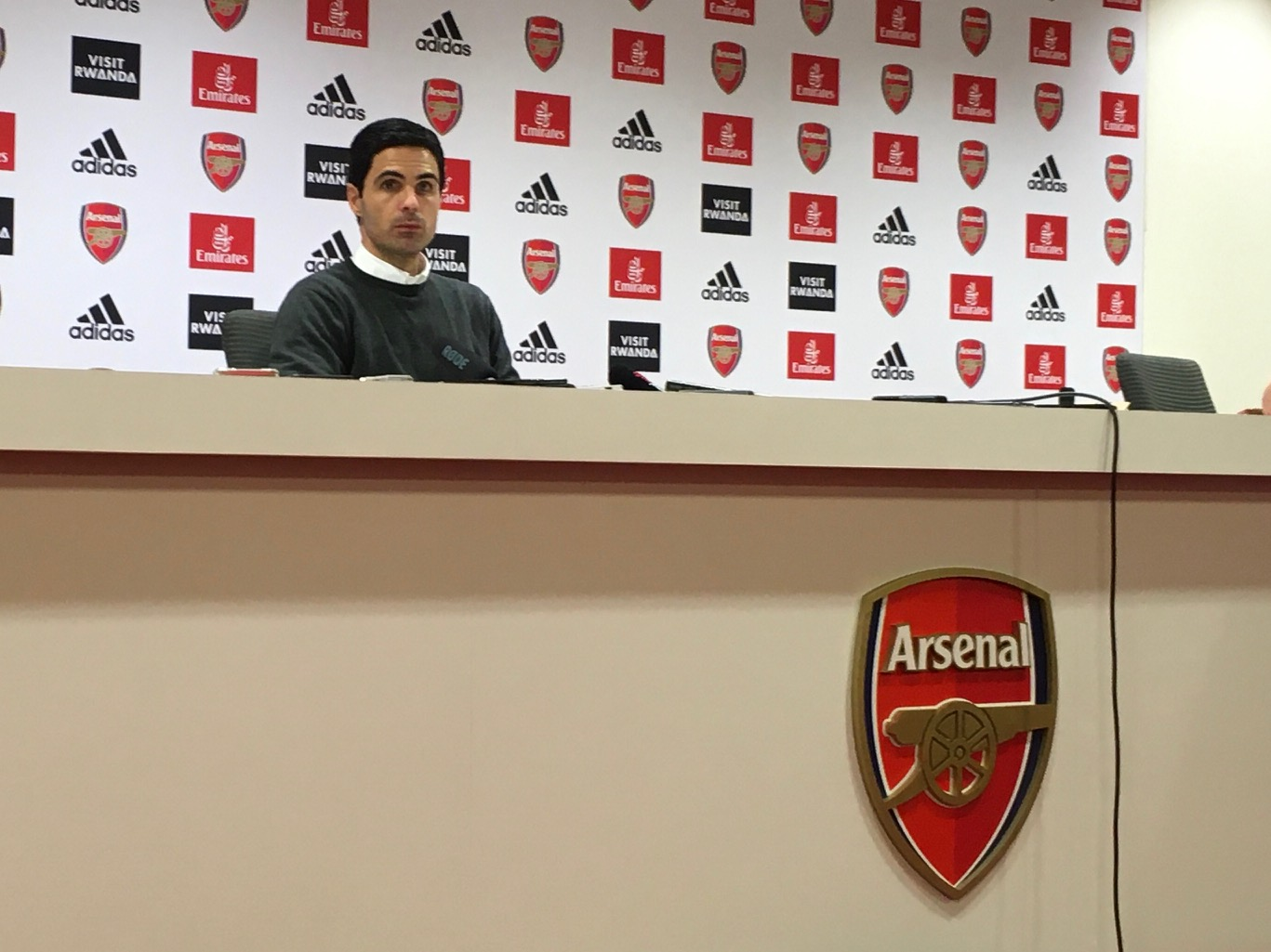 Mikel Arteta won his first match as Arsenal Head Coach with a 2-0 defeat of Manchester United. (Tusdiq Din)