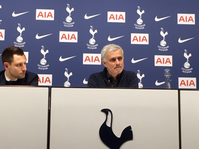 Jose Mourinho reflects after Spurs saw off Manchester City 2-0 (Tusdiq Din)