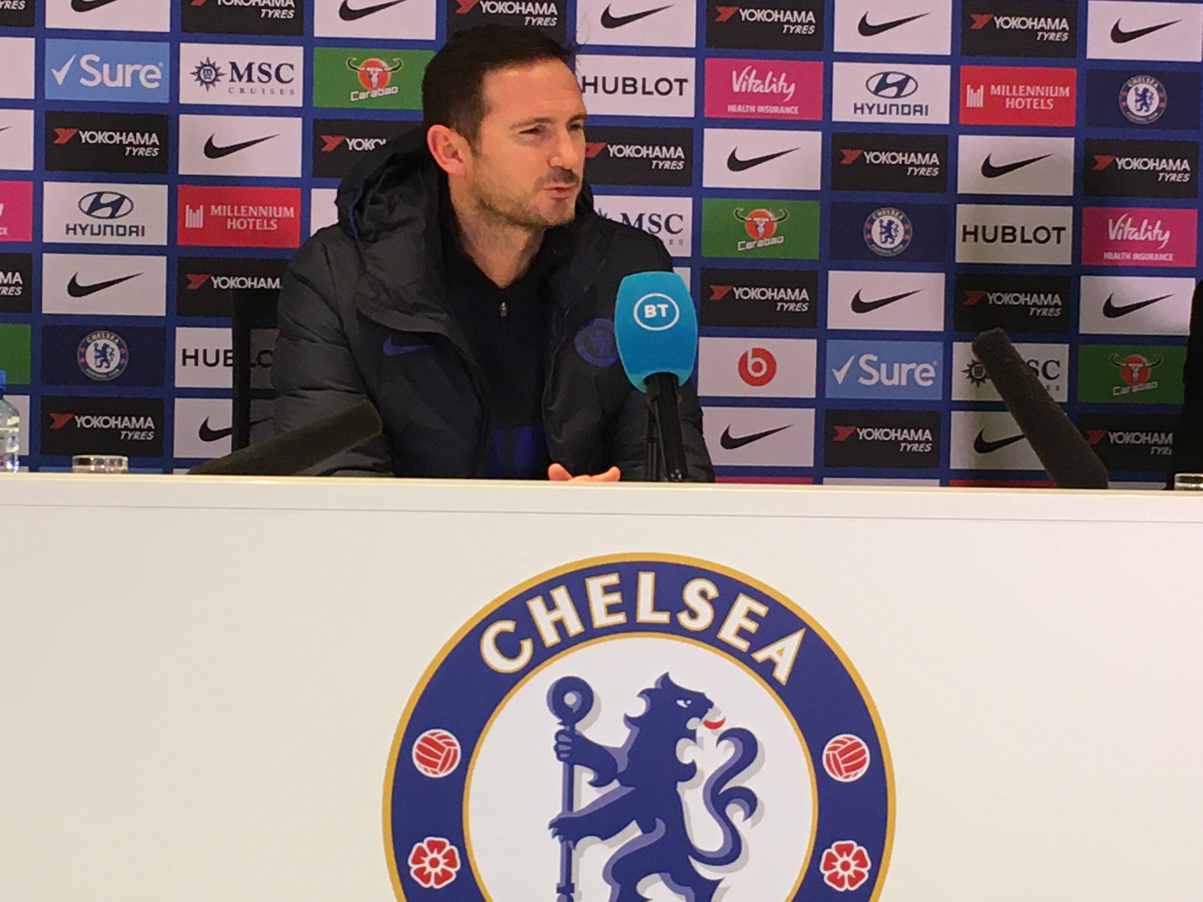 rank Lampard oversaw Chelsea win for the first time in five Premier League matches (Tusdiq din)