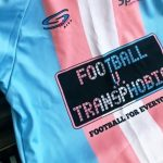 Football v. Transphobia Jersey. Photo/OutSports