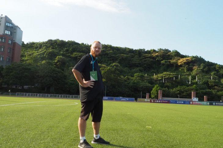 Danish football coach Johnni Nielsen