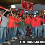 The Bangalore Kop celebrate a Liverpool victory