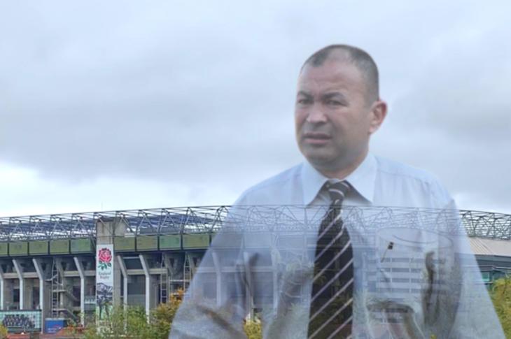 Eddie Jones looms over Twickenham