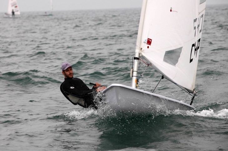 Cypriot Laser-class sailor Pavlos Kontides, who at London 2012 won his nation's first ever Olympic medal