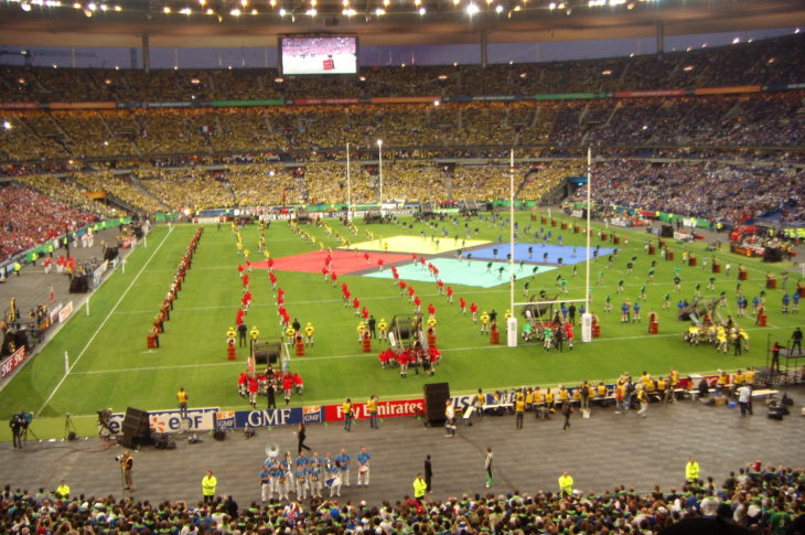 France, which lasted hosted the tournament in 2007, will play host to Rugby World Cup 2003