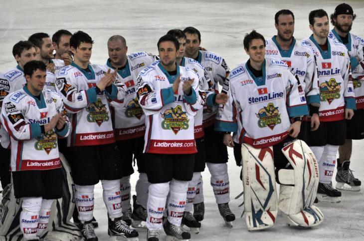Elite League 2011/12 champions Belfast Giant