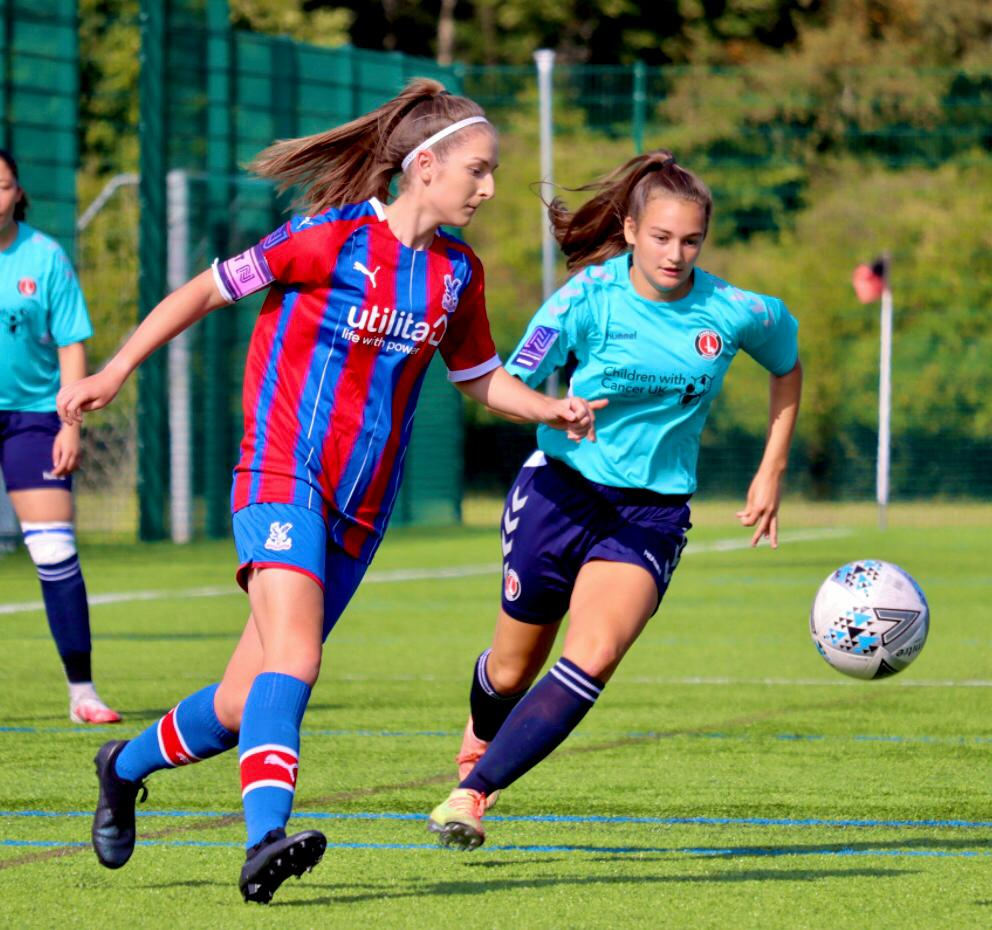 Rosenberg in action for Crystal Palace