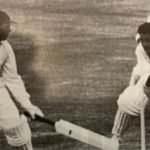Farokh Engineer Wicket-keeping on display to stump Sir Geoff Boycott