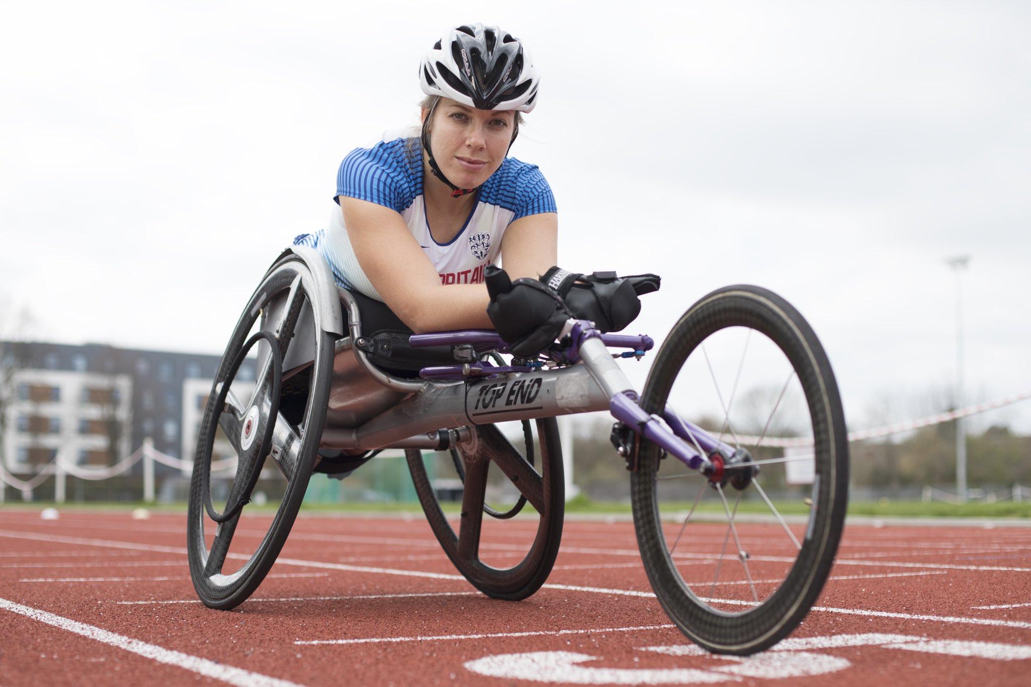 T34 wheelchair racer Hannah Cockroft