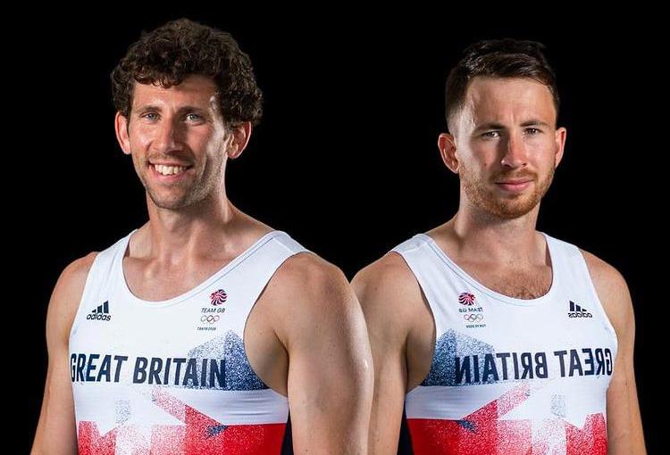 Matthew Tarrant (left) with Morgan Bolding (right) Picture: Matthew Tarrant Instagram
