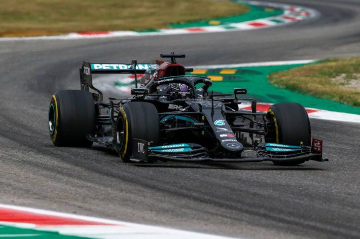 Lewis Hamilton's race car